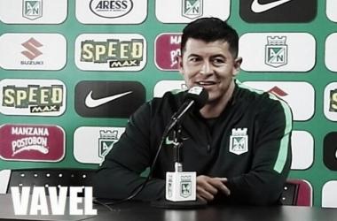 """Jorge Almirón: """"El rival hizo un gran trabajo, nosotros teníamos que romper eso y superarlo""""   Foto: VAVEL Colombia"""