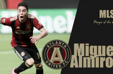Miguel Almiron is on fire; Wins second consecutive Player of the Week