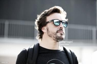 Fernando Alonso. Foto: Getty Images.