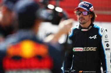 Fernando Alonso. Vía: The Official Home of Formula One