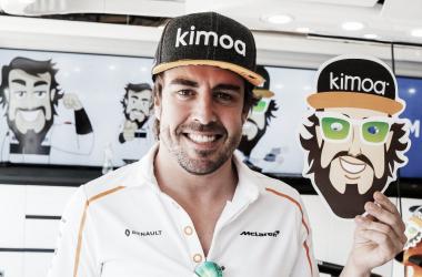 Alonso en el GP de Hungría 2018 | Foto: @alo_oficial