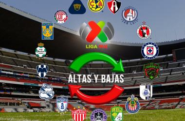 Altas y bajas oficiales de la Liga MX para el Grita México A2021