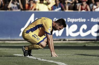 La falta de gol en el Alcorcón, un problema sin fin