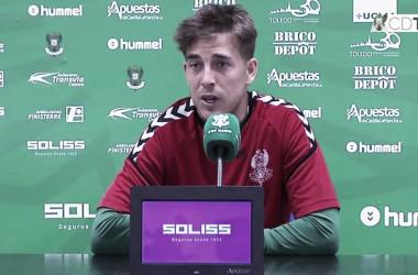 """Álvaro Antón: """"Confiamos en que salga bien y podamos darle un abrazo"""""""