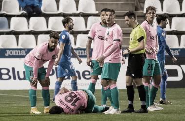 Álvaro Sanz sufre una fuerte contusión en el cuádriceps