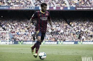 Alves alcanza a 'Il Capitano'