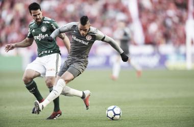 Em jogo de poucas chances, Internacional e Palmeiras empatam no Beira-Rio