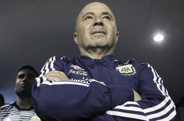 El entrenador resaltó el trabajo realizado hasta el momento | Foto: Ámbito Financiero