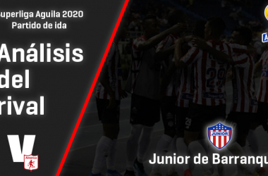 América de Cali, análisis del Rival: Junior de Barranquilla (Ida - Superliga 2020)