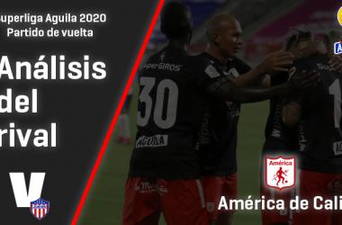 Junior de Barranquilla, análisis del rival:   América de Cali (Vuelta - Superliga 2020)