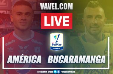 Resumen y goles: América vs Bucaramanga (2-1) por la Liga BetPlay 2020
