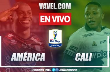 Resumen América vs. Cali (2-2) en los cuartos de final ida por Copa BetPlay 2021