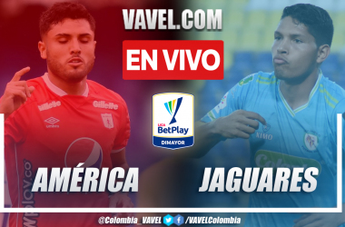 Resumen América vs. Jaguares 2-3 en la fecha 10 por Liga BetPlay 2021-II