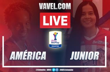 Resumen América vs Junior (2-0) por la Liga Femenina BetPlay