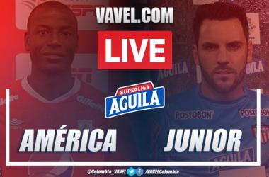 Resumen y goles: América de Cali vs Junior por Superliga (0-2)