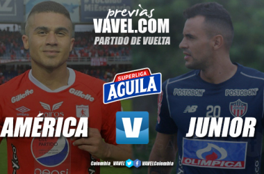 Previa América de Cali vs. Junior de Barranquilla: se define al supercampeón