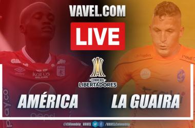 Resumen América vs La Guaira (3-1) en la fecha 5 del grupo H por Copa Libertadores 2021