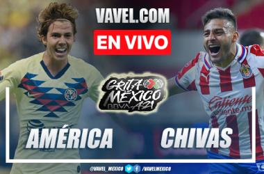 Resumen del América 0-0 Chivas en Liga MX 2021