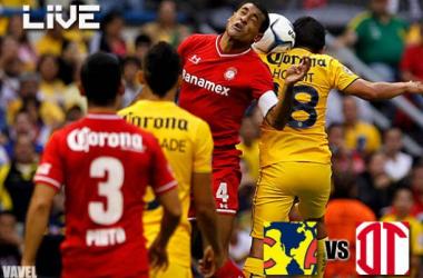 Resultado América - Toluca en Liga MX 2013 (2-0)