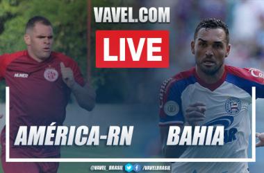 Gols e melhores momentos América-RN 0 x 2 Bahia pela Copa do Nordeste