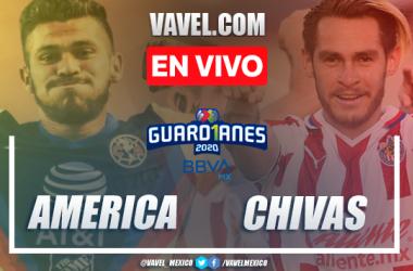 Goles y Resumen: América 1-0 Chivas en Liga MX 2020