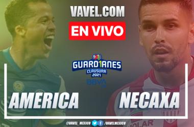 Goles y resumen: América 2-1 Necaxa en Liga MX 2021
