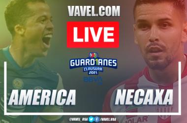 Goles y resumen: América 2-1 Necaxa Liga MX Guardianes 2021
