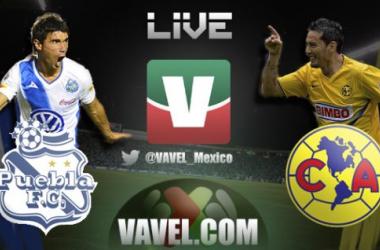 Resultado América - Puebla en Liga MX 2013 (3-1)