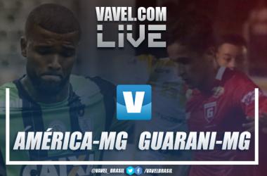 América-MG x Guarani-MG AO VIVO hoje pelo Campeonato Mineiro (2-2)