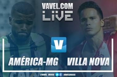 Resultado América-MG 3x0 Villa Nova-MG no Campeonato Mineiro 2019