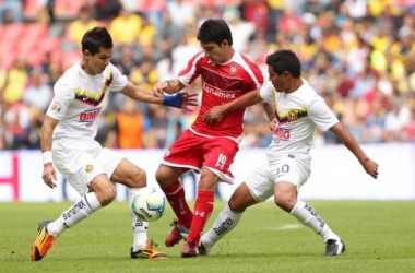 Resultado America - Toluca en Liga MX 2013 (1-1)