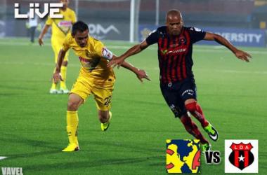 Resultado América - Alajuelense en Concachampions 2013 (0-1)