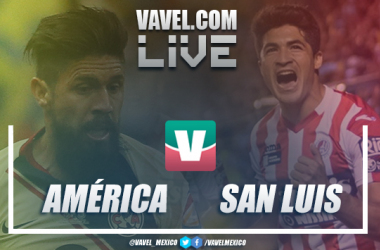 Partido y goles deAmérica yAtlético de San LuisCopa MX 2019 (1-0)