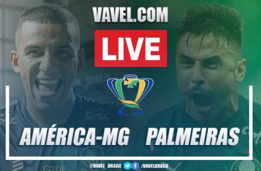 Gols e melhores momentos América-MG 0x2 Palmeiras pela Copa do Brasil