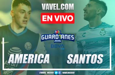 Goles y resumen: América 3-1 Santos Laguna en Liga MX 2020