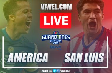 Goal and Highlights America 2-1 Atletico San Luis, Guard1anes 2021 Liga MX | 09-01-2021
