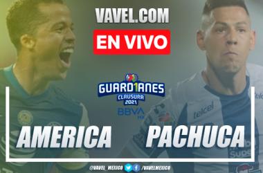Goles y resumen del América 2-0 Pachuca, en Jornada 8 de la Liga MX 2021
