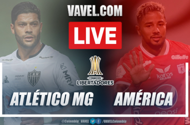 Resumen Atlético Mineiro vs América de Cali (2-1) en la fecha 2 del Grupo H por Copa Libertadores 2021