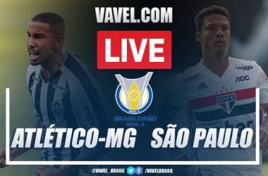 Gols e melhores momentos de Atlético-MG x São Paulo pelo Campeonato Brasileiro (3-0)
