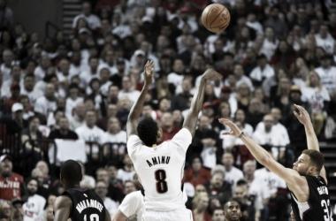 Resumen NBA: Charlotte y Portland igualan sus eliminatorias; Oklahoma pasa de ronda