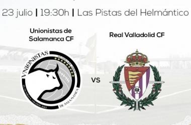 Unionistas - Real Valladolid. Foto Unionistas CF