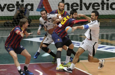 FC Barcelona - Helvetia Anaitasuna: la ASOBAL va antes que la Champions