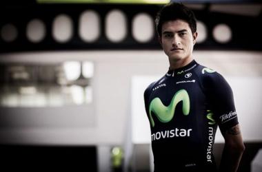 """Winner Anacona: """"El Movistar es el mejor equipo del mundo, aquí aprenderé mucho"""""""