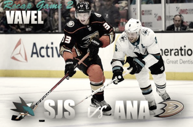 Anaheim Ducks San Jose Sharks Playoffs (Vavel Photo Montage)
