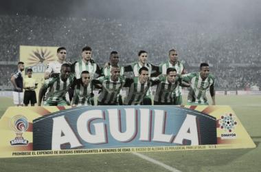 Los 'verdes' cayeron de locales ante Millonarios y se les escapó el título de la Superliga Águila | Foto: Atlético Nacional