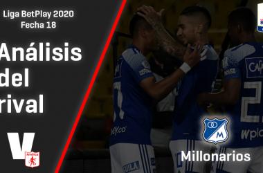América de Cali, análisis del rival: Millonarios (Fecha 18, Liga 2020)