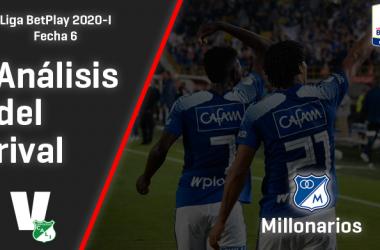 Deportivo Cali, análisis del rival: Millonarios (Fecha 6, Liga 2020-I)