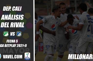 Deportivo Cali, análisis del rival: Millonarios FC (Fecha 5, Liga BetPlay 2021-II)
