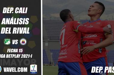 Deportivo Cali, análisis del rival: Deportivo Pasto (Fecha 14, Liga 2021-I)