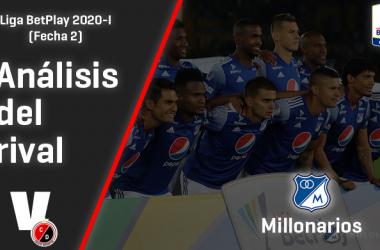 Cúcuta Deportivo, análisis del rival: Millonarios